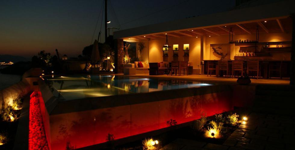 Sample photo of pool lighting
